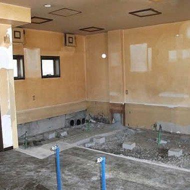 美容院内装工事 施工前