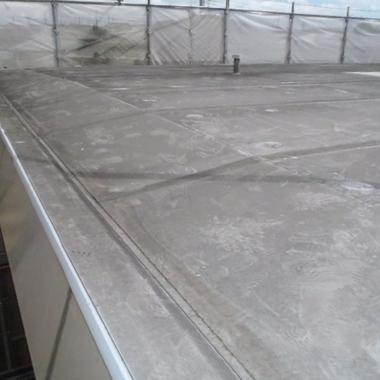 屋根上排気ダクトの解体 撤去
