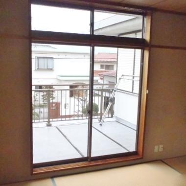 内窓・サッシ 変更前 和室