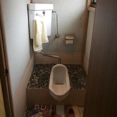 浜松市中区✕トイレリフォーム✕和式のトイレから洋式のトイレに変える工事の施工前写真(0枚目)