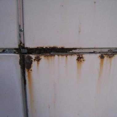 外壁塗装前 アップ