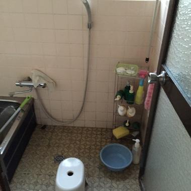 洗い場 施工前
