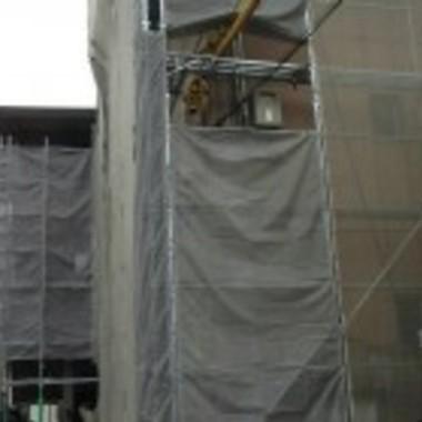 アパート 改修工事中1