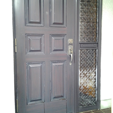 ドア新調前