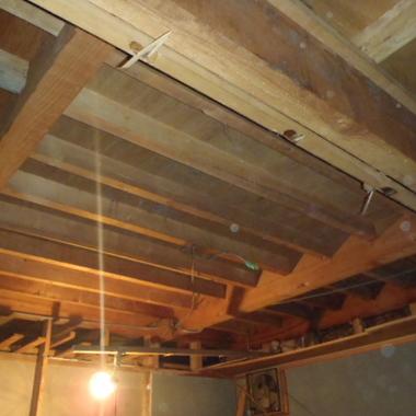 耐震補強工事 天井
