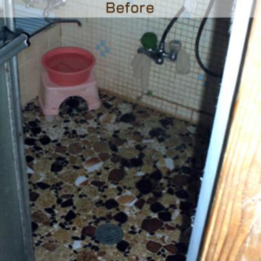 古い浴室とお風呂