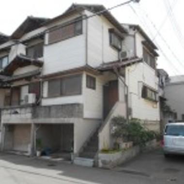 淀川区✕外壁塗装✕気持ちよくお住まい頂けるようにする工事の施工前写真(0枚目)