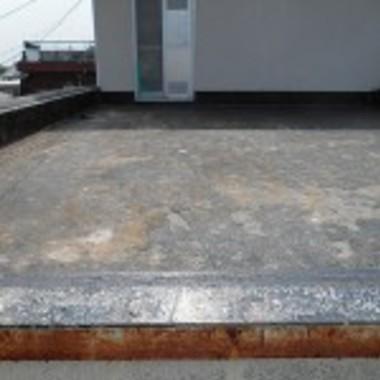 大阪市住吉区✕屋上の防水施工✕丁寧な仕上がりの工事の施工前写真(0枚目)