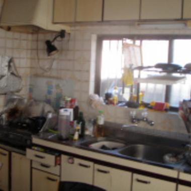 システムキッチンリフォームの施工前写真(0枚目)
