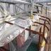屋根メンテナンス施工中