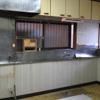 キッチンリフォーム キッチン取り外し2