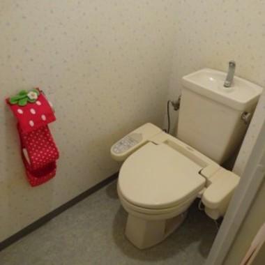 フチなしトイレへリフォーム 前