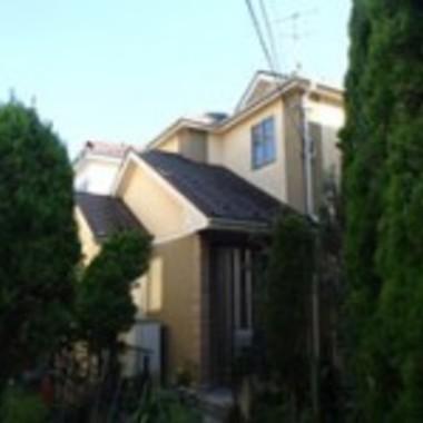 泉区 外壁屋根塗装 前 遠くから