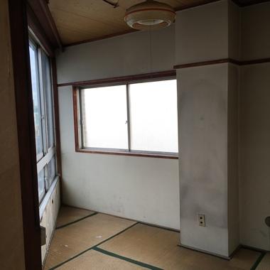 和室リフォーム前 窓側