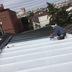 荒川区 屋根防水塗装工事 前 作業中