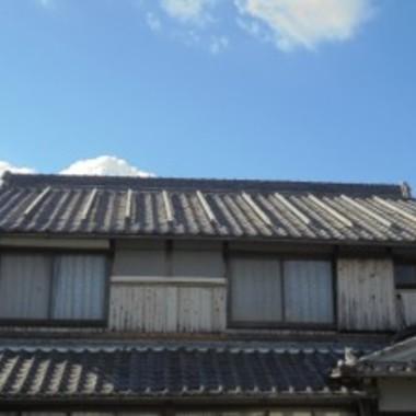 屋根塗装前 全体