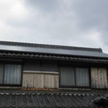 屋根塗装前 下部