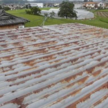 屋根塗装前 アップ画像