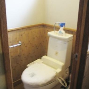 トイレ本体