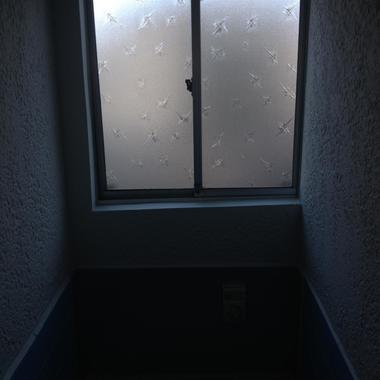 どこかの窓