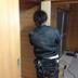内装修繕工事 ドアの設置途中