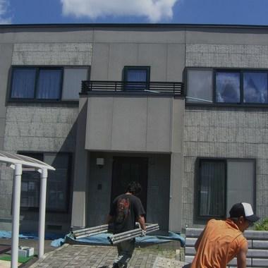 屋根塗装外壁塗装前