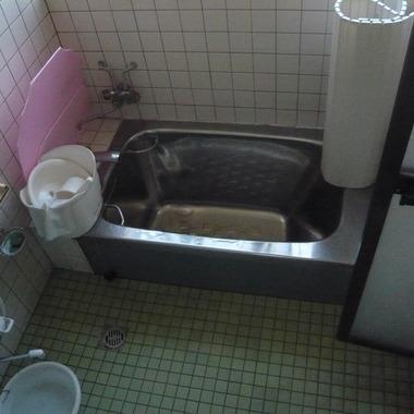 浴室リフォーム 前