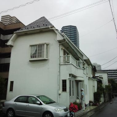 さいたま市浦和区✕外壁屋根塗装✕迅速な仕上がりのプロの工事の施工前写真(1枚目)