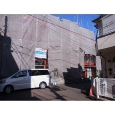西東京市 アパート外壁塗装でまるで新築の施工前写真(0枚目)