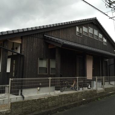 太宰府市 木部塗装 自然塗料の施工前写真(0枚目)