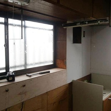 神奈川県小田原市 キッチンリフォーム S様邸の施工前写真(2枚目)