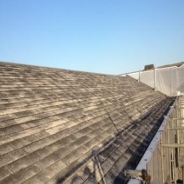 マンション屋根塗装前