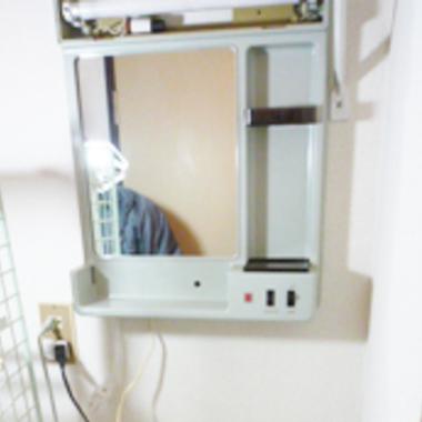 洗面台リフォーム前 鏡