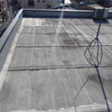 マンション屋上防水塗装前