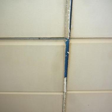 外壁塗装後前 アップ画像