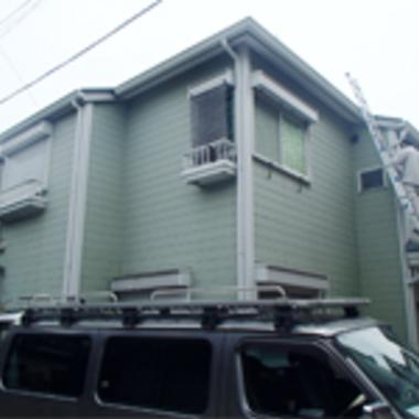 外壁と屋根の塗装前