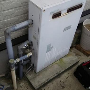 ガス給湯器交換前