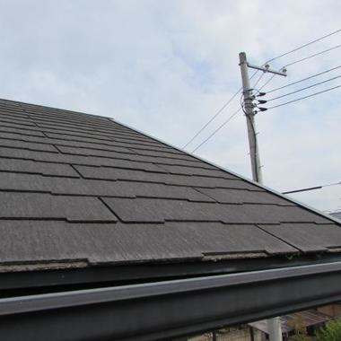 屋根塗装工事 前