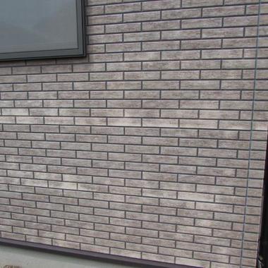 壁塗装工事 前