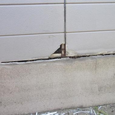 外壁サイディング張替え 塗装工事 前