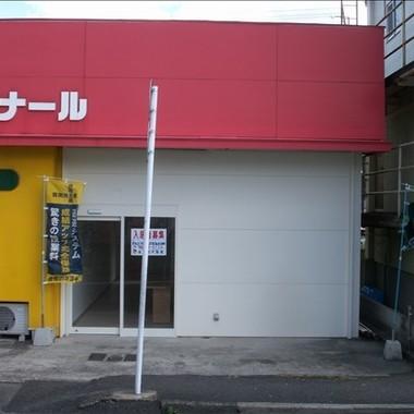 店舗改装前 店内入口