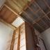 室内階段設置部分の天井 作業前