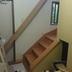 室内階段設置途中