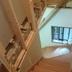 室内階段部分 壁工事中
