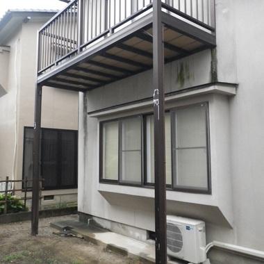 富山市 増改築工事前 外観