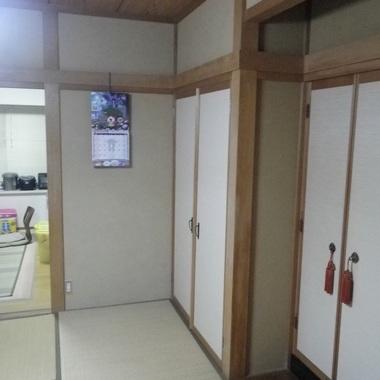 富山市 増改築工事前 収納