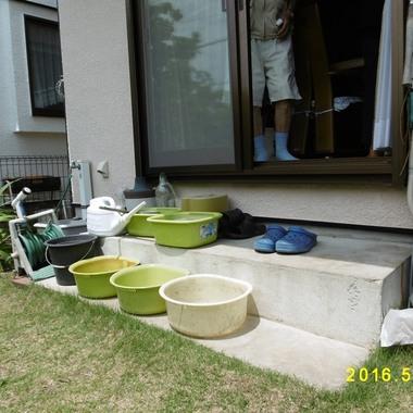 横浜市栄区 住宅改修 庭階段 施工前