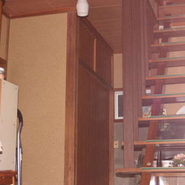 階段周りリフォーム前