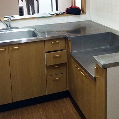 キッチンリフォーム/拡張工事でより広く高級感のあるキッチンにの施工前写真(0枚目)