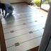 温水床暖房設置工事前